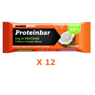 Proteinbar Superior Coconut Named - Box 12 pezzi