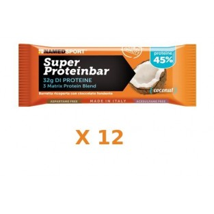Superproteinbar Superior Cocco Named - Box 12 pezzi