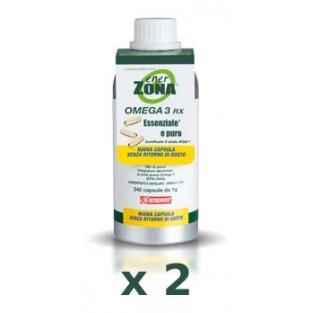 Kit promo: 2 confezioni di Omega 3 Rx Enerzona da 240 capsule