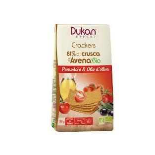 Crackers di crusca d'avena Dukan con pomodoro e olio d'oliva - 125 g