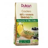 Crackers di crusca d'avena Dukan con rosmarino e olio d'oliva - 125 g