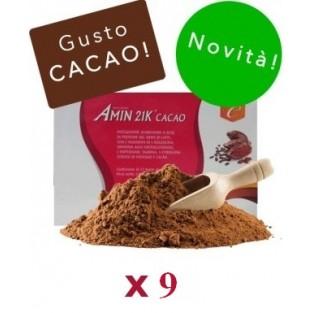 Kit Promo: 9 confezioni Amin 21 K Cacao