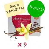 Kit Promo: 9 confezioni Amin 21 K Vaniglia
