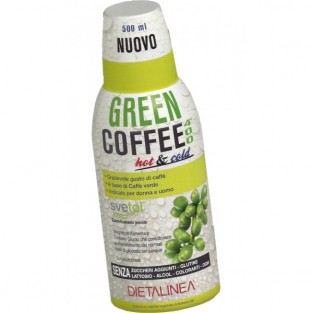 Green Coffee 400 Hot & Cold Dietalinea - 500 ml