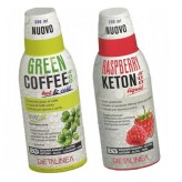 Kit dimagrante Dietalinea: Green Coffee 400 e Raspberry Keton 400
