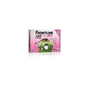 Frontline Tri-Act da 2 a 5 kg - 3 pipette