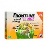 Frontline Tri-Act da 5 a 10 kg - 3 pipette