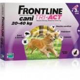 Frontline Tri-Act da 20 a 40 kg - 3 pipette
