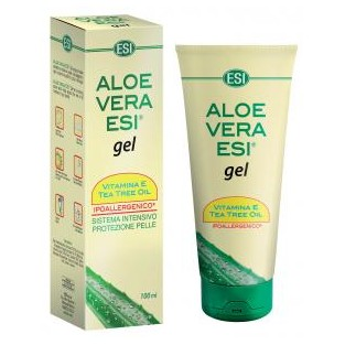 Esi Aloe Vera Gel con Vitamine E e Tea Tree Oil - 100 ml