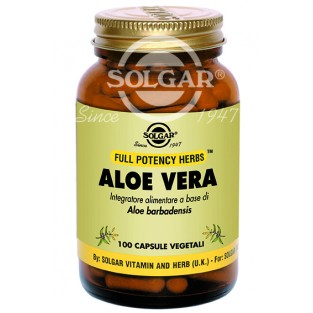 Aloe Vera Solgar - 100 capsule