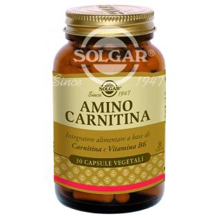Amino Carnitina Solgar - 30 capsule