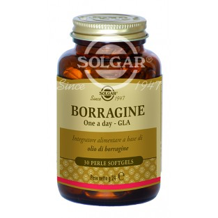 Borragine One a day GLA Solgar - 30 perle