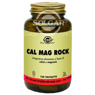 Cal Mag Rock Solgar - 100 tavolette