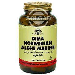 Dima Norwegian Alghe Marine Solgar - 250 tavolette