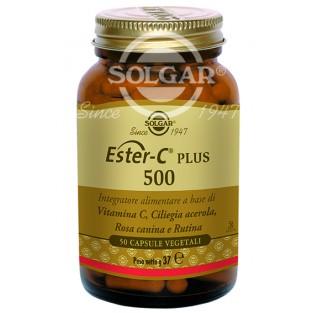 Ester C Plus 500 Solgar - 50 capsule