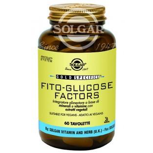 Fito Glucose Factors Solgar - 60 tavolette