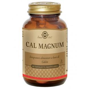 Cal Magnum Solgar - 60 tavolette masticabili