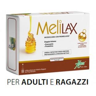 Aboca Melilax 6 microclismi da 10g
