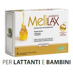 Aboca Melilax Pediatric 6 micoclismi da 5g