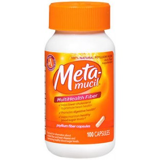 Metamucil Fibra Multibenessere 4 in 1 - 100 capsule