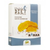 Patatine gusto barbecue Lifestyle Diet Centro Méssegué - 2 buste