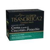 Crema Tisanoreica 2 al gusto di Cioccolato e Pistacchio - 4 buste