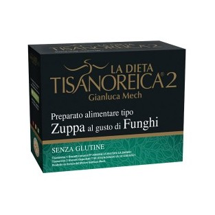 Tisanoreica 2 Preparato Alimentare tipo Zuppa al gusto di Funghi