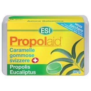 Caramelle all'eucalipto Propolaid Esi - 50 g