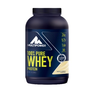 100% Pure Whey Protein Multipower Vaniglia - 900 g