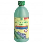 Aloe Vera Succo Esi gusto Mirtillo - 1000 ml