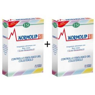 Doppia Confezione Normolip 5 Esi da 30 capsule