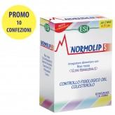 Dieci Confezioni di Normolip 5 Esi da 60 capsule