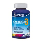 Omega 3 + Vitamina D Multipower - 100 capsule