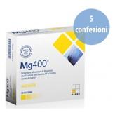 Cinque Confezioni di Mg 400 Named