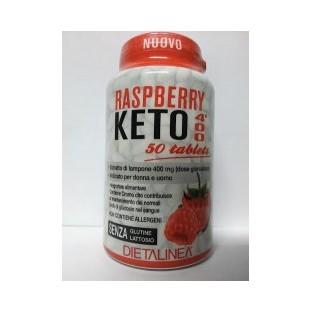 Dietalinea Raspberry Keto 400 - 50 tavolette