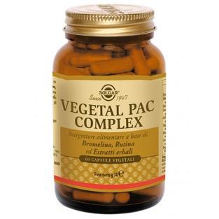 Vegetal Pac Complex Solgar - 60 capsule vegetali