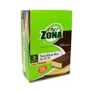 Enerzona Barrette alla vaniglia Nutrition bar - 25 pezzi