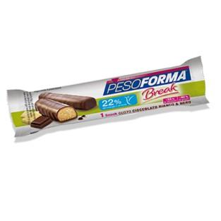 Snack Break Pesoforma gusto Cioccolato Bianco e Nero