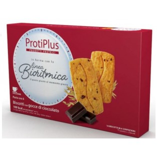 Biscotti con gocce di cioccolato Protiplus - 200 g