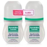 Promozione Somatoline: Doppia confezione di Deodorante roll-on per Pelli Sensibili