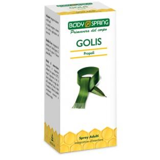 Body Spring Golis Spray Gola alla Propoli