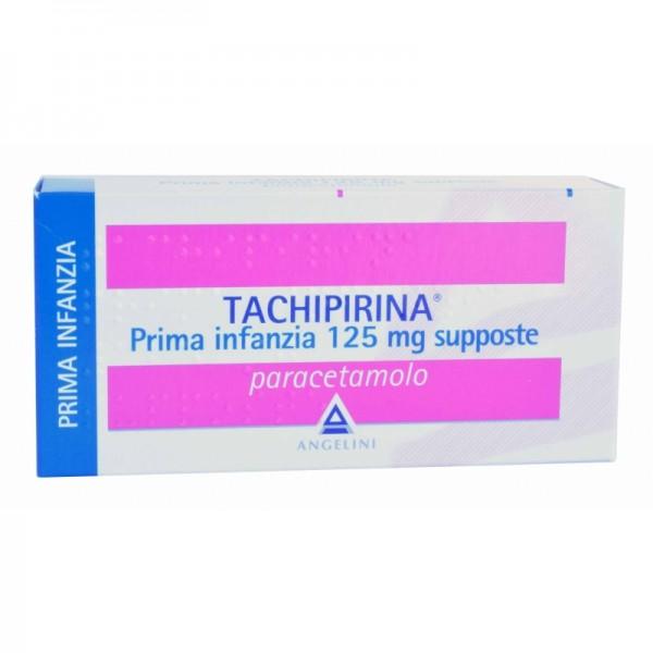 Tachipirina 10 supposte prima infanzia 125 mg for Tachipirina per raffreddore