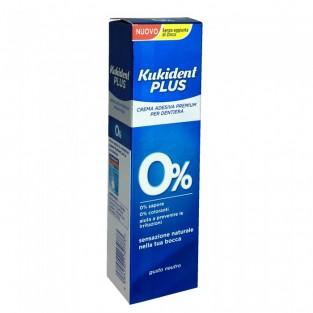 Crema Adesiva Plus 0% Kukident - 40g