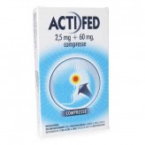 Actifed 2,5mg+60mg - 12 Compresse