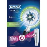 Spazzolino Elettrico Oral B Pro 750 Crossaction