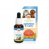 Agitation & Calm Australian Bush Flower Animal - 30 ml