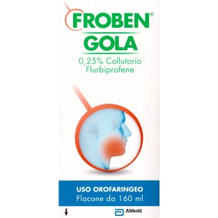 Froben Gola Colluttorio 0,25% Flurbiprofene - 160 ml