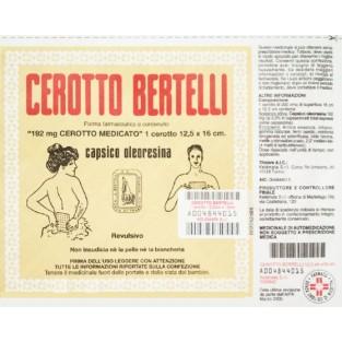 Cerotto Bertelli Medio 12,5 x 16 cm