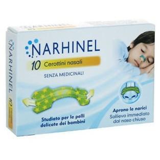 Narhinel Cerotti Nasali per Bambini - 10 Bretelline