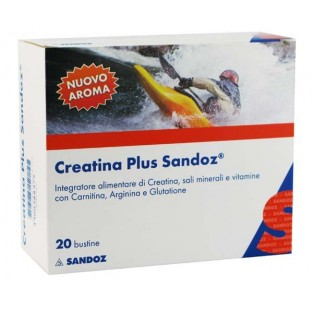 Creatina Plus Sandoz - 20 Bustine